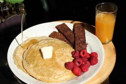 GF Sorghum Pancake breakfast